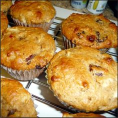 Mouthwatering Mincemeat Muffins - Powered by Xmas Food, Christmas Cooking, Christmas Recipes, Thanksgiving Recipes, No Bake Desserts, Dessert Recipes, Breakfast Casserole Muffins, Power Muffins, Minced Meat Recipe
