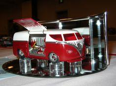 Custom VW Bus.