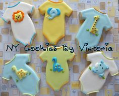 Onesies, see more pictures @ : https://www.facebook.com/pages/NY-Cookies-By-Victoria/390369164337852?sk=photos_albums