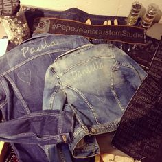 More designs by Paula Echevarría in our #PepeJeansCustomStudio