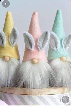Easter Projects, Easter Crafts For Kids, Diy Easter Toys, Bunny Crafts, Easter Treats, Spring Crafts, Holiday Crafts, Diy Osterschmuck, Diy Ostern