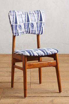 Quilted Linen Dining Chair - anthropologie.com