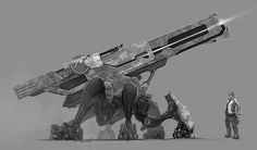 Mobile artillery by DimensionalDrift on deviantART