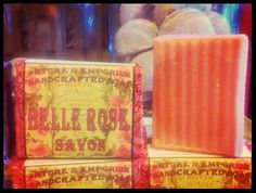 Belle Rose Savon ~ Natural Soap, Candle & Lotion – Nature's Emporium Cherokee Soap Co. www.CherokeeSoap.com
