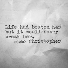   Poetic   Leo Christopher