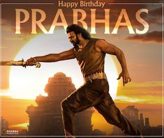 """Read more about Prabhas' look in 'Saaho' revealed on his birthday on Business Standard. """"Baahubali"""" star Prabhas, who turned 38 on Monday, gave his fans a gift -- the first look poster of multi-lingual action film """"Saaho"""". Happy Biryhday, Prabhas Actor, New Song Download, Dharma Productions, Prabhas Pics, Most Handsome Actors, Lakshmi Images, 38th Birthday, Star Darlings"""