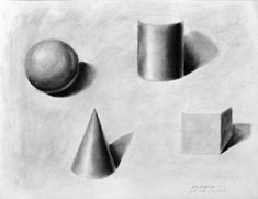 Simple Shapes to Draw | Previous - Back to Drawing I - Next