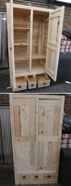 Exquisite Pallet Outdoor Furniture Ideas for Home Garden | 1000 - Modern#exquisite #furniture #garden #home #ideas #modern #outdoor #pallet Garden Furniture Inspiration, Garden Furniture Design, Pallet Garden Furniture, Diy Outdoor Furniture, Diy Furniture, Furniture Projects, Garden Inspiration, Provence, Pallet Ideas Easy