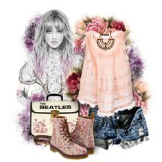 "Cute set with Cato Necklace!  ""Без названия #1212"" by lenochca on Polyvore"