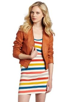 4a082e0a1477d8 French Connection orange jacket