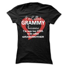 Im called Grammy because Im way too COOL to be called G - #sweat shirts #offensive shirts. SAVE => https://www.sunfrog.com/LifeStyle/Im-called-Grammy-because-Im-way-too-COOL-to-be-called-Grandmother.html?id=60505