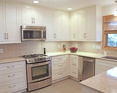 Traditional Spaces Kitchen Cabinets Design, Pictures, Remodel, Decor and Ideas - page 13