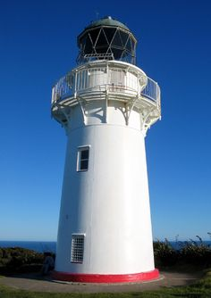 Lighthouse @ East Cape - East Cape, East Coast