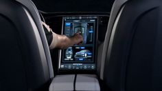 The Model S 17-Inch Touchscreen Display