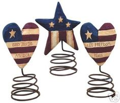 americana - use the bedspring tutorial pinned on crafty