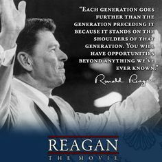 Opportunities Best Inspirational Quotes, Amazing Quotes, Great Quotes, Ronald Reagan Quotes, President Ronald Reagan, Greatest Presidents, American Presidents, American History, Biblical Quotes