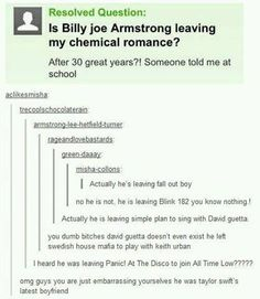 "I think I just died. And they said ""billy"" and not ""billie"" you should be so ashamed"