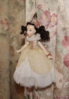 Купить Интерьерная подвеска / елочная игрушка - белый, Новый Год, игрушка ручной работы