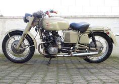 Moto-Guzzi-V7-Special- with 2CV motor