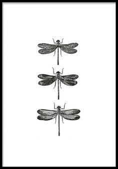 Tre guldsmede på plakat