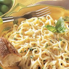 Linguine with Creamy Alfredo Sauce III Recipe
