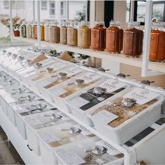 Bulk store dreams via ? Share a bulk shopping tip below ? Bulk Store, Eco Store, Farm Store, Zero Waste Grocery Store, Bulk Food, Boutique Interior, Lokal, Retail Shop, Food Retail