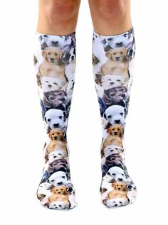Puppy Knee High Socks..........must have.