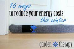 DIY Door Socks and 15 Other Ways to Reduce Energy