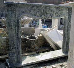 thegatz - French Style Marble Fireplace Mantel 97-00009, $3,300.00 (http://www.thegatz.com/french-style-marble-fireplace-mantel-97-00009/)