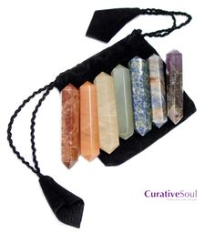 Chakra Healing Wands - Set of 7