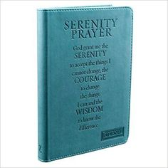 Writing Journal Featuring Flexcover With Serenity Prayer