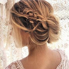 Braid with bun