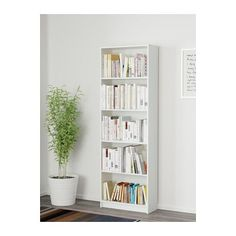 GERSBY Bookcase  - IKEA $279  Product dimensions Width: 60 cm Depth: 24 cm Height: 180 cm Max. load/shelf: 13 kg