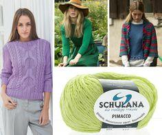 "SCHULANA ""Pimacco"" Trends, Sweaters, Fashion, Colors, Cotton, Moda, Fashion Styles, Fasion, Sweater"