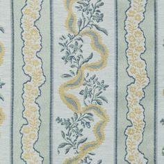 Upholstery Fabric - Stannard Sea Green Floral - Medium Fabric Pattern Tilton Fenwick