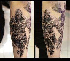 Assassins creed tattoo
