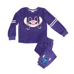Disney Store Stitch and Angel Soft Feel Pyjamas For Kids Pijama Disney, Disney Pajamas, Kids Pajamas, Stitch And Angel, Lilo And Stitch, Disney Outfits, Girl Outfits, Cute Outfits, Crop Top And Shorts
