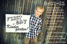 Back to School Photo Ideas. Did Hunters but I want more lol