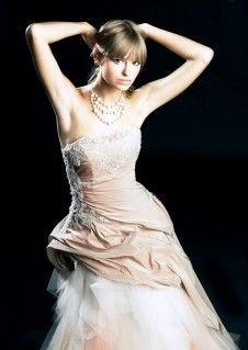 Unikatowe suknie ślubne, wedding dresses - Suknia ślubna venika w kształcie litery A