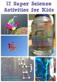 Easy and exciting ways to introduce hands-on science to kids!