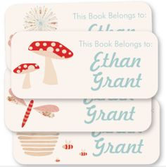 Personalized book labels | tinyme