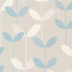 "Found it at Wayfair - Elements Ernst Linear Leaf 33' x 20.5"" Floral 3D Embossed Wallpaper"
