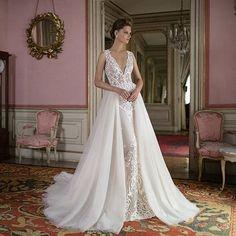 A vision of beauty with @bertabridal! Regal and femininity defined. #Berta #bertabridal #newcollection #bridaldesigner #bridalgown #weddingdress #bridalfashion #bridalstyle #love #beauty #weddingbells #gettingmarried #bride #bridetobe #ido #enaged #2016br