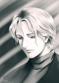 Monster fan art. Johan Liebert  #Johan #Liebert #Monster