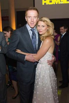 #DamianLewis and #ClaireDanes attend a premiere screening of 'Homeland' at #CorcoranGalleryofArt on September 9, 2013 in Washington D.C.