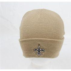New Orleans Saints Gold Cuffed NFL Classic Knit Cap Beanie