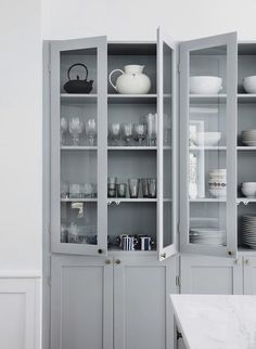 """""""Outtake from our kitchen in Kitchen Interior, Home Interior Design, Kitchen Decor, Kitchen Ideas, Wardrobe Cabinets, Inspired Homes, China Cabinet, Bathroom Medicine Cabinet, Home Kitchens"""