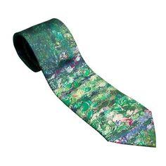 The Water-Lily Pond MONET Silk Tie
