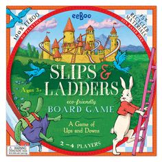 Rarely do we put eeBoo up for our Deal of the Week, but lucky you!    This week is the classic game of Snakes and Ladders done eeBoo style, and at 35% off, now only $16.22!  Use code: weeklydeal     -Only good while supplies last, offer expires Jan. 15th 2013