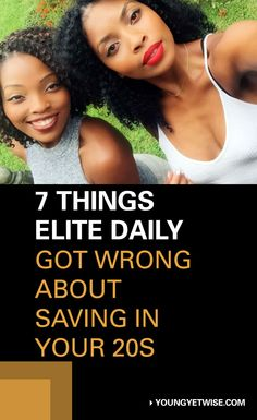 "Last week I stumbled across Elite Daily's post ""If You Have Savings In Your 20s, You're Doing Something Wrong."" Everyone is entitled to their opinion some people don't like to save, while others love saving. Before you throw all your savings out the window, consider these points below. http://youngyetwise.com/7-things-elite-daily-got-wrong-about-saving-in-your-20s/"
